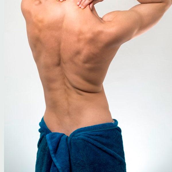 Espalda – hombre