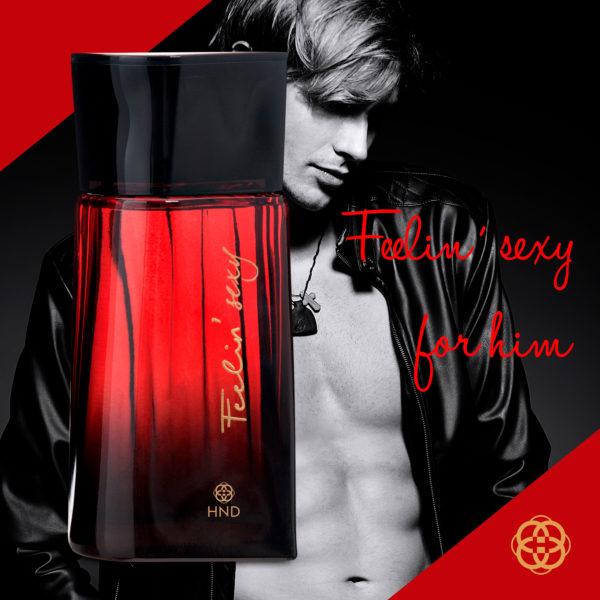 Perfume Masculino Feelin' sexy for him